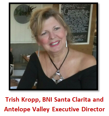 Trish Kropp, Executive Director BNI Santa Clarita and Antelope Valley Region